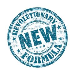 New revolutionary formula grunge rubber stamp