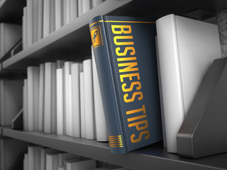 Business Tips - Title of Book.