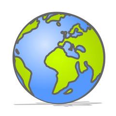 abstrakter Globus