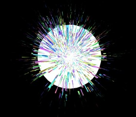 爆発のイメージ