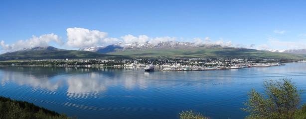 Panorama sur Akureyri