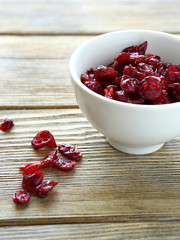 Dried berries cranberries