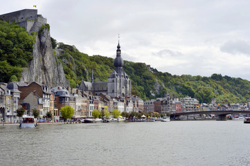 Dinant view from the River Meuse
