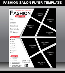 fashion Salon Flyer Template