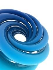 3D helix shape