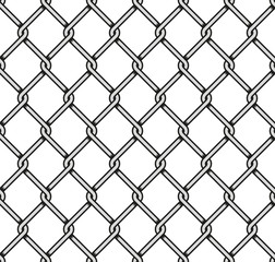Steel Wire Mesh Seamless Background.