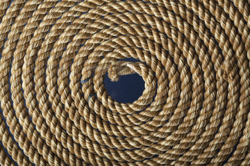 Rope in a Circle Shape