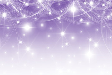smooth violet  with stars background