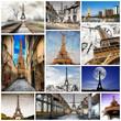 la tour in collage