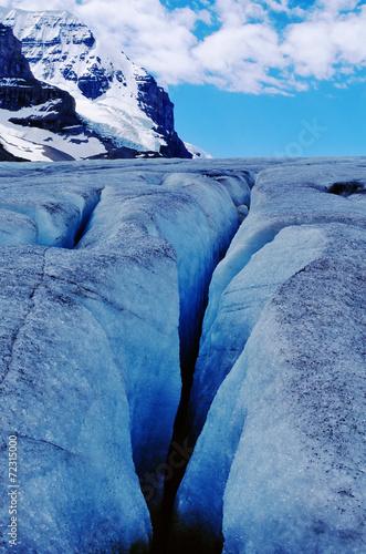 Spoed canvasdoek 2cm dik Gletsjers Glacier crevasse