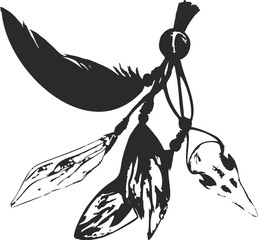 bird's skull