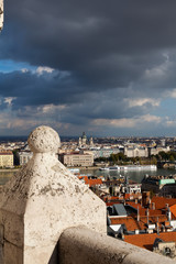 Budapest and River Danube City View