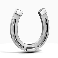 horseshoe isolated on the white background