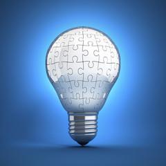 jigsaw light bulb