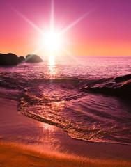 Twilight Shore Sea Stones