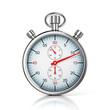 stopwatch 3d illustration - 72317031