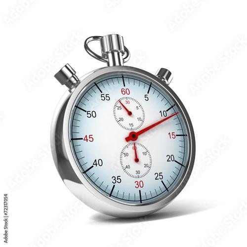 Leinwandbild Motiv stopwatch 3d illustration