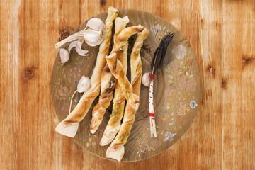 Pizza breadstick.