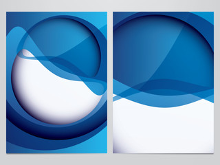 vector business flyer, brochure template