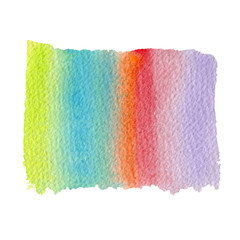 abstract watercolor rainbow gradient background