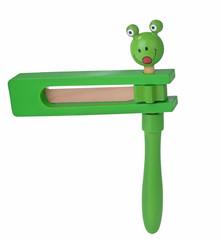 Wooden toy ratchet