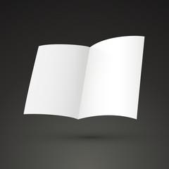 half-fold brochure template