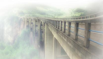 Bridge dzhurzhevicha Montenegro