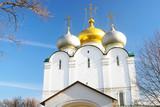 Fototapeta Smolenskaya church. Novodevichy convent in Moscow