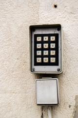 Eingabegerät,Codierung Tür