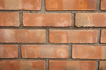 Wall texture with bricks