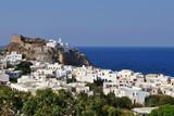 Mandraki town on island Nissyros,Greece