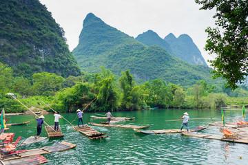 Flösser au dem Li-Jiang