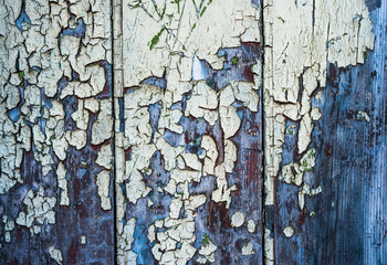 old cracked paint wood grunge texture background