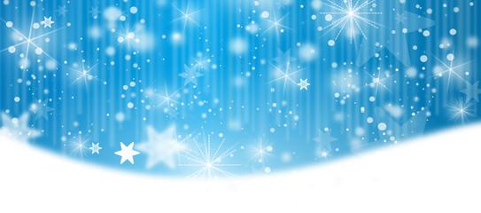 winter landschaft schnee banner blau