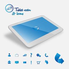 New white tablet