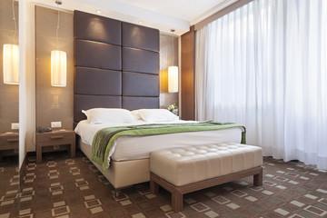Interior of a modern bedroom