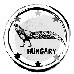 rubber stamp. Hungary.