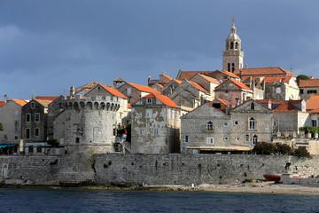 Korčula island in Croatia
