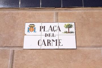 Valencia, Spain - Praca del Carme