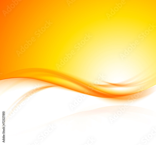 orange background poster