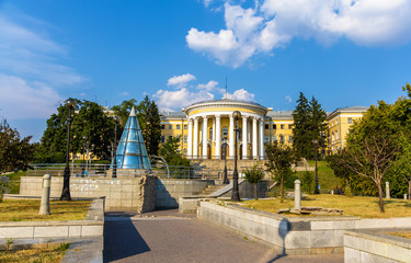 October Palace in Kiev after Revolution in 2014