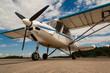 Leinwanddruck Bild - Motorflugzeug