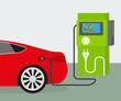 Electric car charging - 72328433