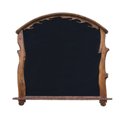 Black board frame