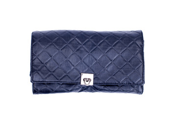 makeup bag on an isolated background