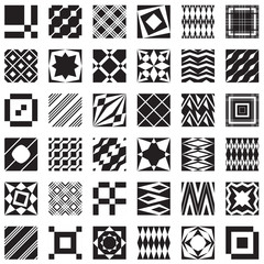 Decorative elements, can be seamless patterns