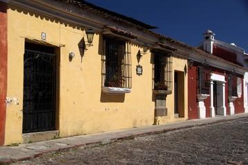 Maisons à Antigua, Guatemala