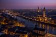 Leinwanddruck Bild - Verona al tramonto