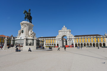 Praça do Comércio, Lissabon, Handelsplatz, Portugal, Lissabon