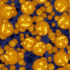 Halloween virus seamless generated hires texture